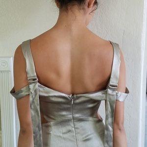 Top shop cut out dress
